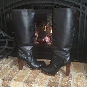 Michael Kors | Alia Black Leather Boot